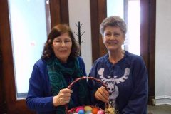 Sue-Sacco-Deanna-Allen-with-their-Easter-Egg-Surprises-1