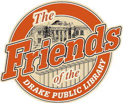 Friends of the Drake Public Library logo