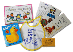 Books for babies kit.