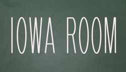 Iowa-Room-sign