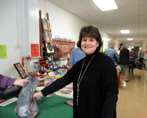 Second customer Mary Dudley