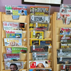 Pictures of magazines