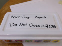 Library Time Capsule