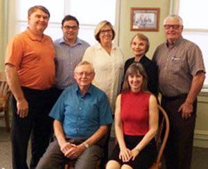 Members of the Drake Public Library Foundation Board