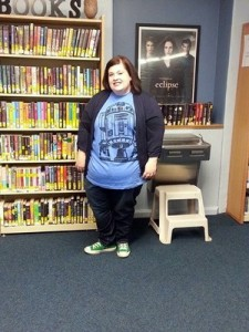 Crys McKissick, Drake Library Staff member